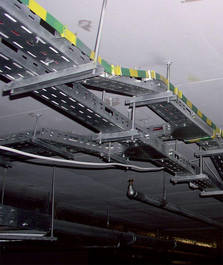 Przykład trasy kablowej Fot. OBO