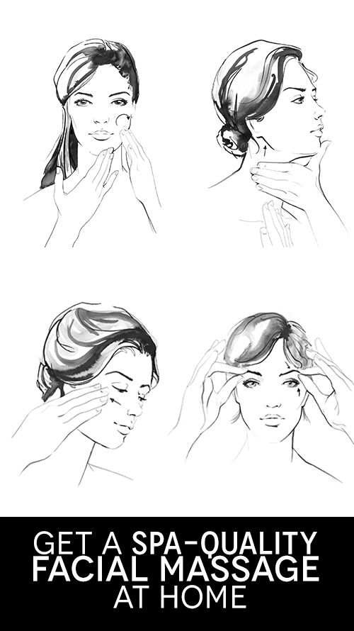 Give yourself a facial with these 3 massage techniques!