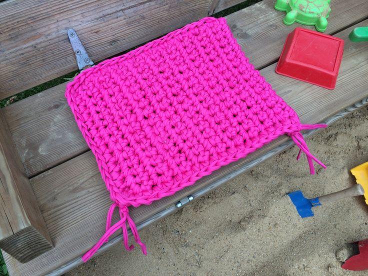 Bodenkissen selber machen  24 besten Kissen, Boden und Poufs aus Textilgarn Bilder auf ...