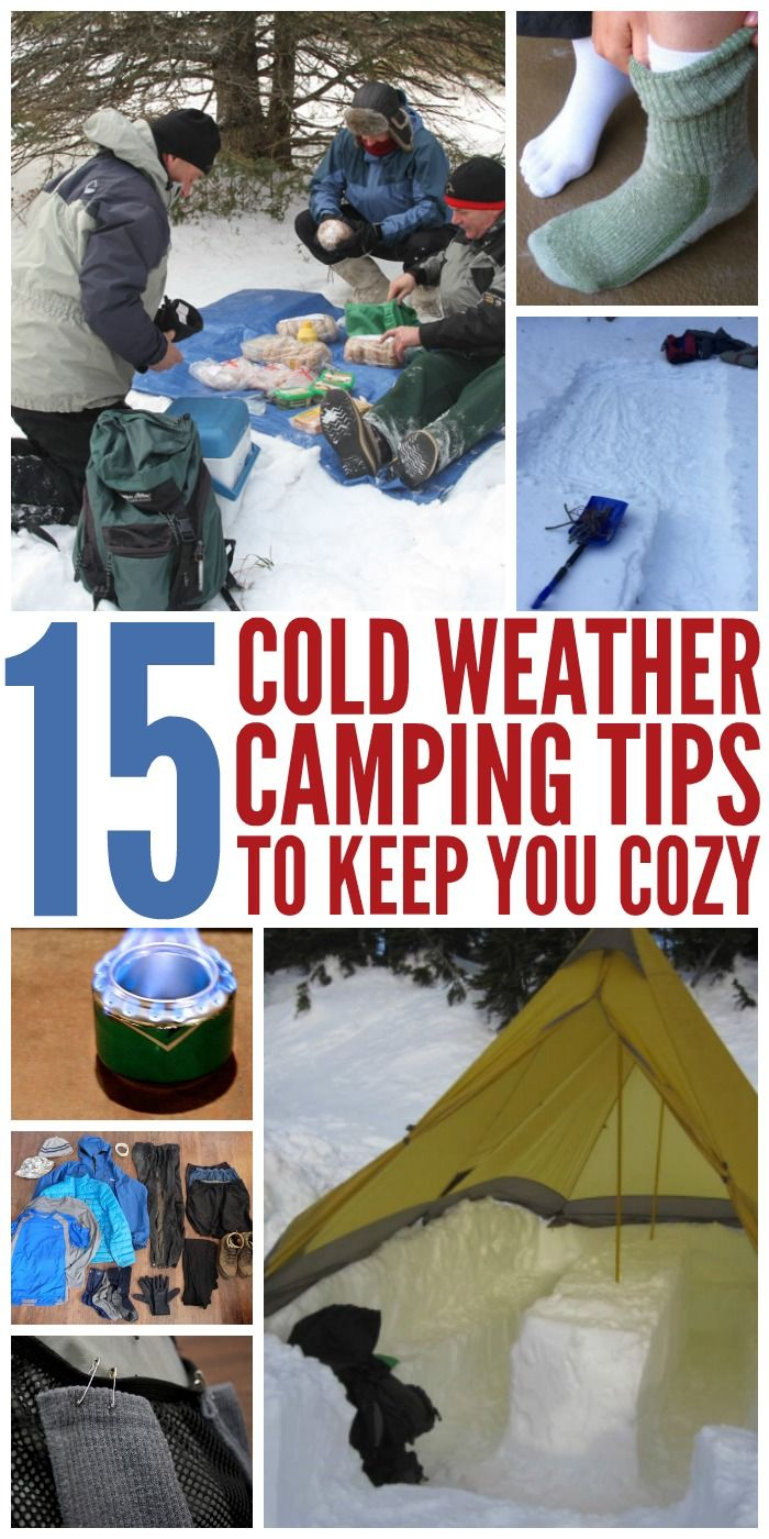 12 Winter Camping Tips That'll Keep You Cozy (With images ...