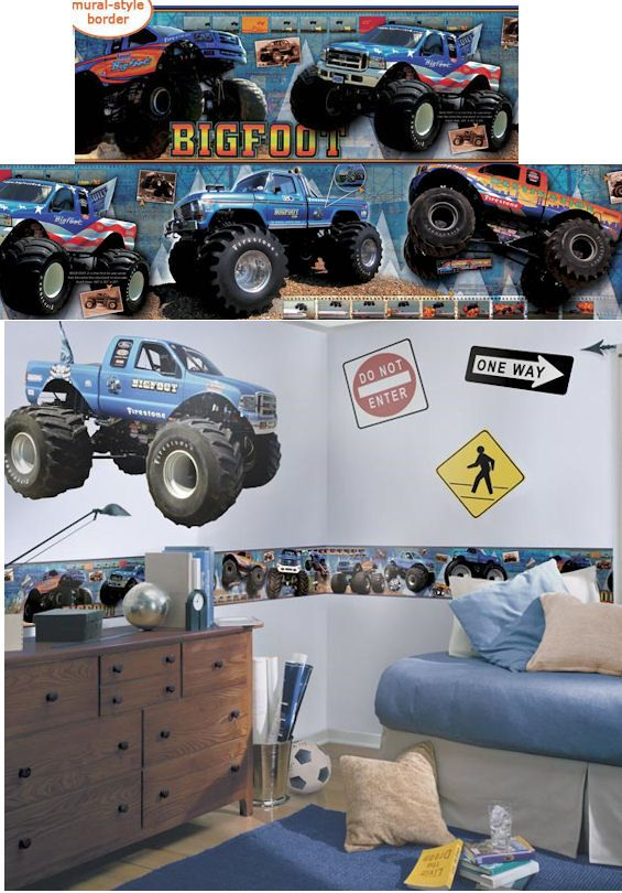29 best images about monster truck bedroom on pinterest