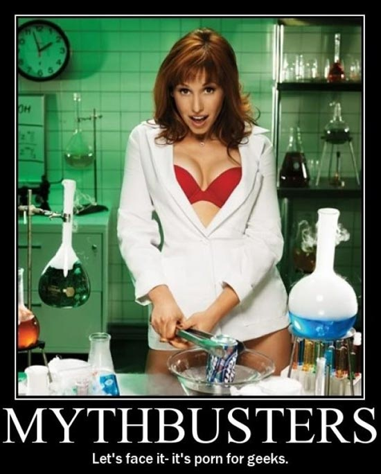 the girl from mythbusters in porn