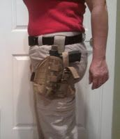 Thigh holster: best open-carry holster for women, hands down! #guns #holster #firearms #opencarry