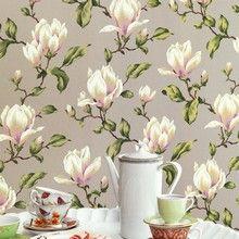 Lavender Dream - Romantisk tapet med blomster fra tulipantræet.