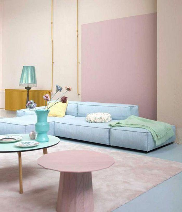la couleur saumon les tendances chez les couleurs d int rieur en photos design d int rieur. Black Bedroom Furniture Sets. Home Design Ideas