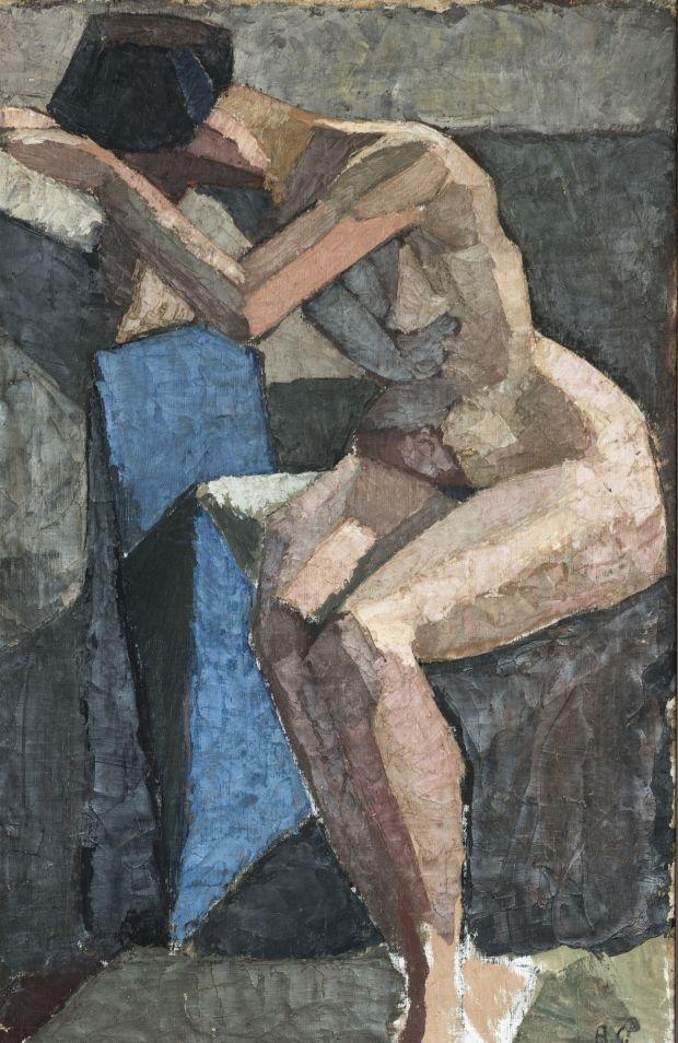 Agnes Cleve (1876-1951)  was een Zweedse schilder. Zij behoort tot het Kubisme en expressionisme. Het familie zomerhuis in Zweden werd een ontmoetingsplaats voor kunstenaars. Er woonden de Russisch-Duitse kunstenaar echtpaar Wassily Kandinsky en Gabriele Münter , met wie contacten gelegd in de periode van Parijs. Beiden waren leden van de Duitse kunstenaarsgroep Der Blaue Reiter , die haar heeft beïnvloed.