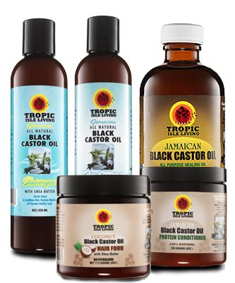 Caribbean Natural Black Castor And Coconut Oil