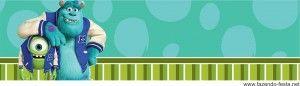 Kit Festa Monstros SA Grátis e Universidade Monstro - pdf pronto para editar o nome do seu filho e imprimir acesse-http://fazendo-festa.net/kit-festa-infantil-gratuitos/kit-festa-monstros/