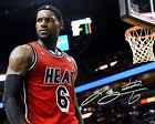 For Sale - LeBron James Miami Heat Signed 8x10 Photo Autograph MVP Jersey Reprint - http://sprtz.us/ThunderEBay