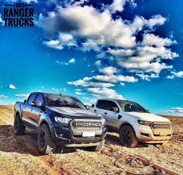 """833 curtidas, 8 comentários - Ford Ranger Trucks® (@fordrangertrucks) no Instagram: """"FRT® 📑 Dobradinha de RANGER enviada pelos amigos NETO & LEONARDO..!! ➖➖➖ 🚘 Ford / Nova Ranger CD…"""""""