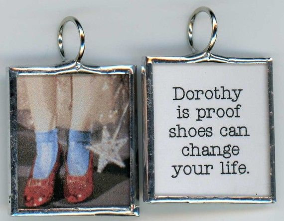 Ruby Slippers of Dorothy of Oz is Proof SHOES Can by ArtsVandalay, $10.00