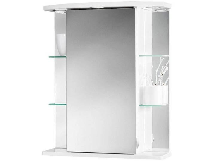 Jokey Jokey Spiegelschrank Havana Led Breite 55 Cm Weiss Weiss In 2020 Medicine Cabinet Bathroom Medicine Cabinet Bathroom