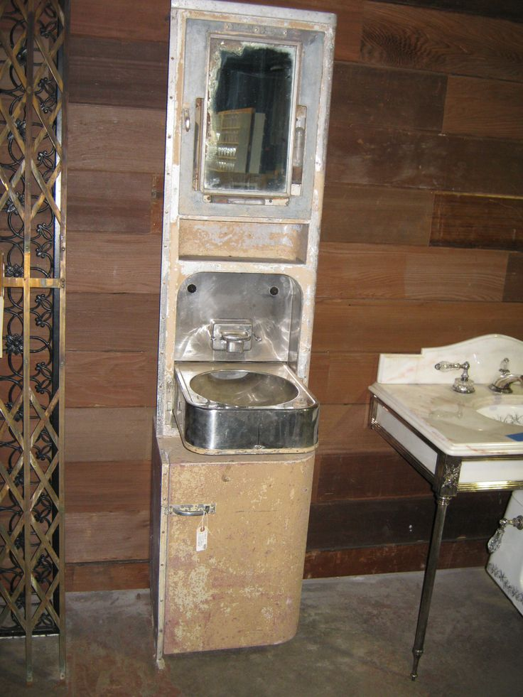 Second Chance Inc. - Store Item    this would be so cool in our powder room...old train sink