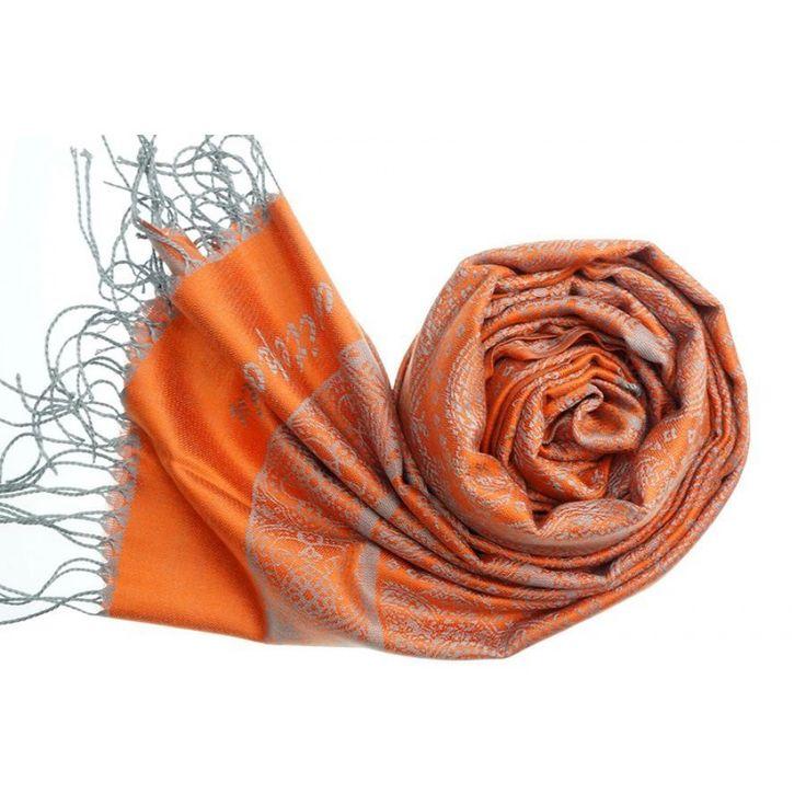 IVYS Pashmina Scarf Orange
