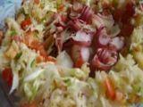 Salada de repolho cozido