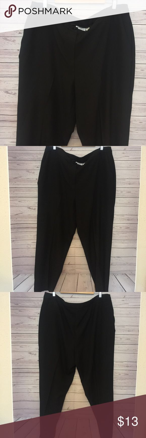 Susan Graver Women's Plus Size 22WP Capris Gently used no flaws waist 21 in Length 39 in inseam 27 in Susan Graver Pants Ankle & Cropped