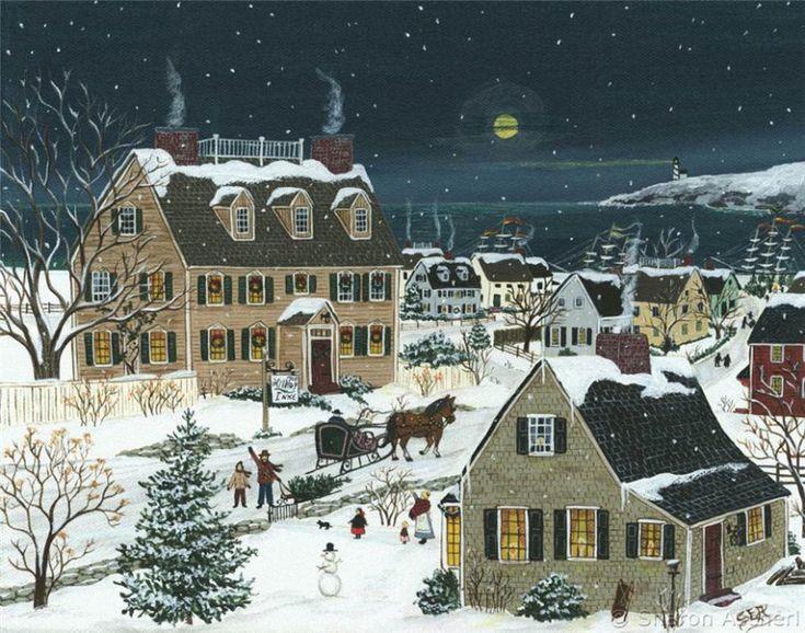 921 best Christmas Art images on Pinterest   Christmas art ...