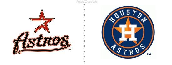 Equipo de béisbol Houstons Astros cambia de logo vía @elpoderdelasideas