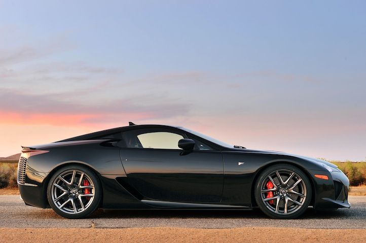 Lexus LFA - V10 Gorgeous, high performance car but way too expensive.  In the end, you're still driving a Toyota.