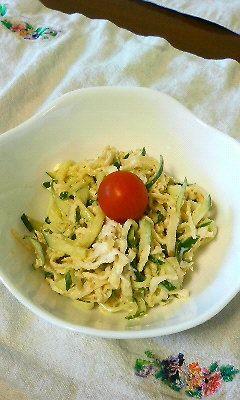 切り干し大根で激うまサラダ by pashaco [クックパッド] 簡単おいしいみんなのレシピが224万品