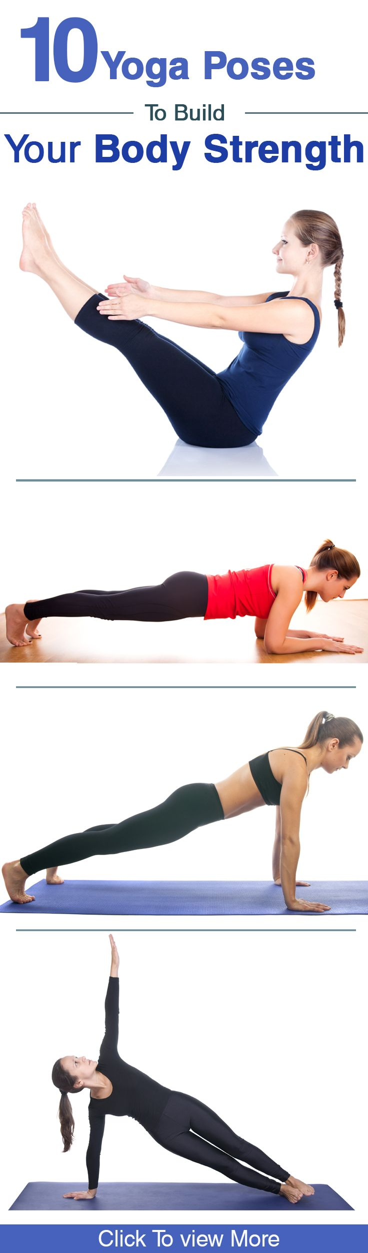 11 Effective #Yoga Poses To Build Your Body Strength that don't include being flexible