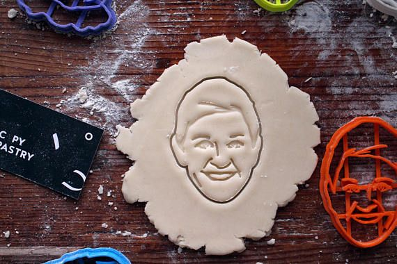 Ellen DeGeneres Cookie Cutter