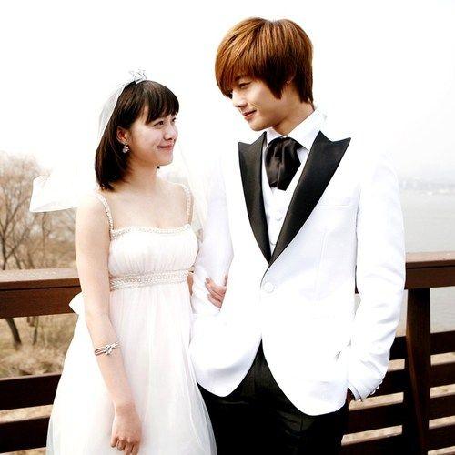 Ku Hye Sun as Geum Jan Di & Kim Hyun Joong as Yoon Ji Hoo ...