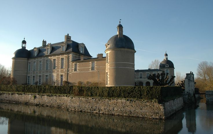 Reuilly chateau de la ferte