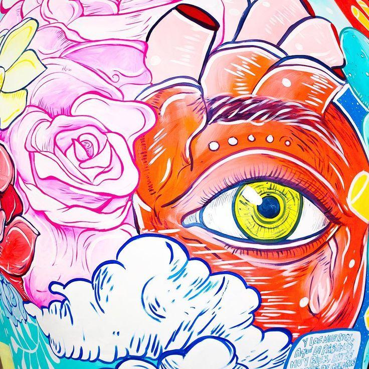 Mañana se inaugura @mexicraneos amiguitos  nos vemos a las 10:30 en el Angel para el recorrido oficial!!!  50 cráneos monumentales intervenidos por artistas osom mexicanos  . . . . . . . . . #girlpower #art #illustration #kindcomments #goodvibes #skull #october #inktober #mural #beauty #halloween #sketch #process #artoftheday #igers #creativosmx #TagsForLikes #instalove #like #love #hope #follow #followme #chido #igersmexico #artist #vivamexico #flowers #dayofthedead #diademuertos
