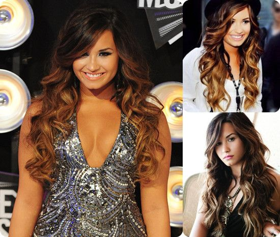 Best Demi Lovato Images On Pinterest Beautiful People - Demi lovato ombre hair