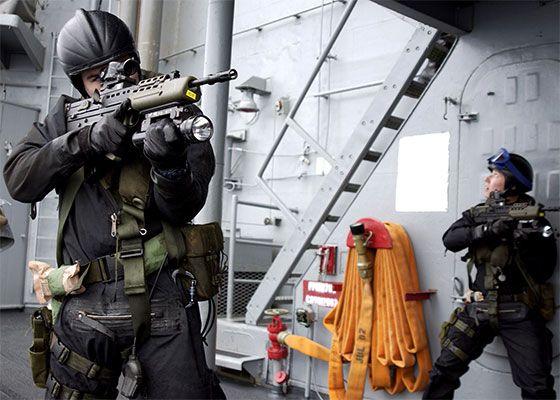 fleet protection group - Royal Marines