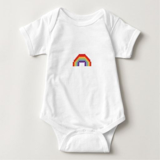 Pixel art rainbow