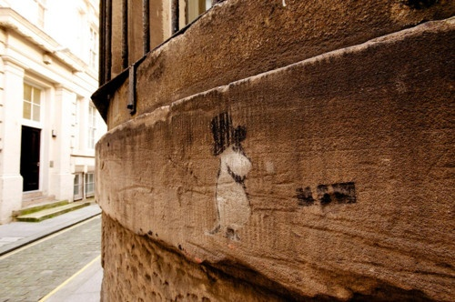 Moominpappa on the wall