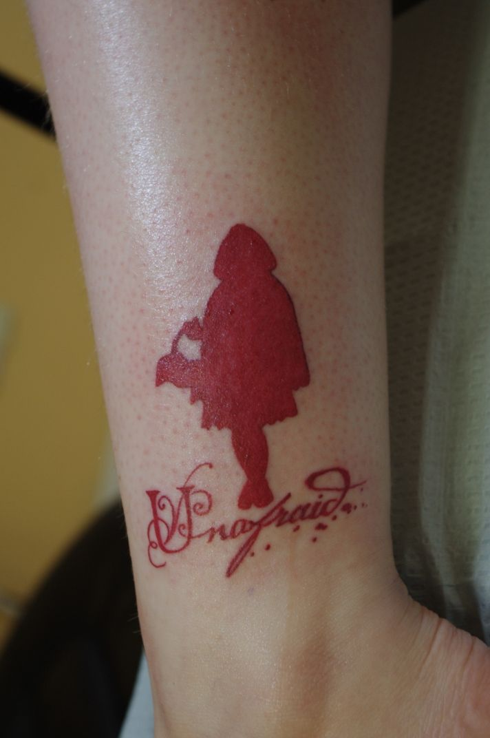 Another little red riding hood tattoo the person has the for Tattoos in reading pa