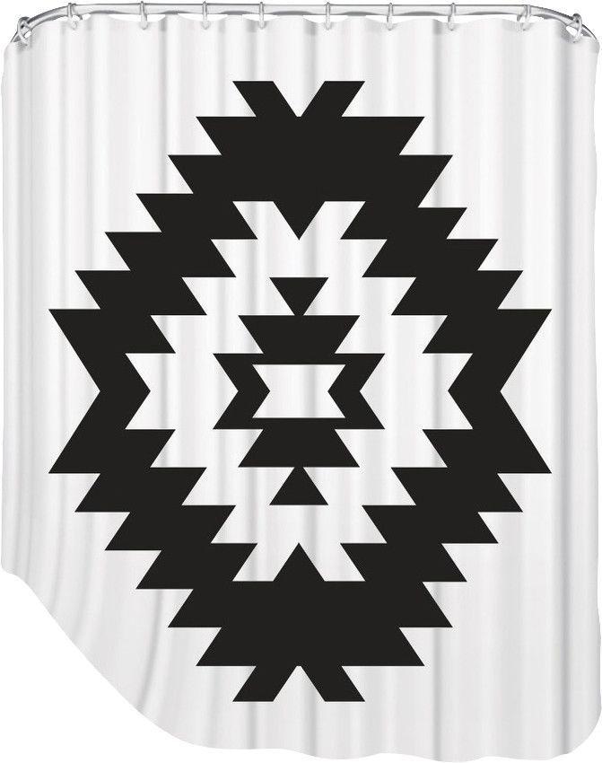 Melinda Wood Southwestern Shower Curtain