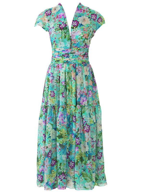 Платье с рукавами реглан бурда