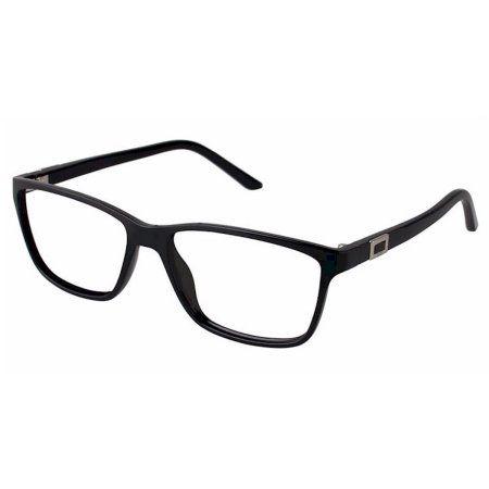 Elle Women's Eyeglasses EL13396 EL/13396 BK Black Full Rim Optical Frame 53mm