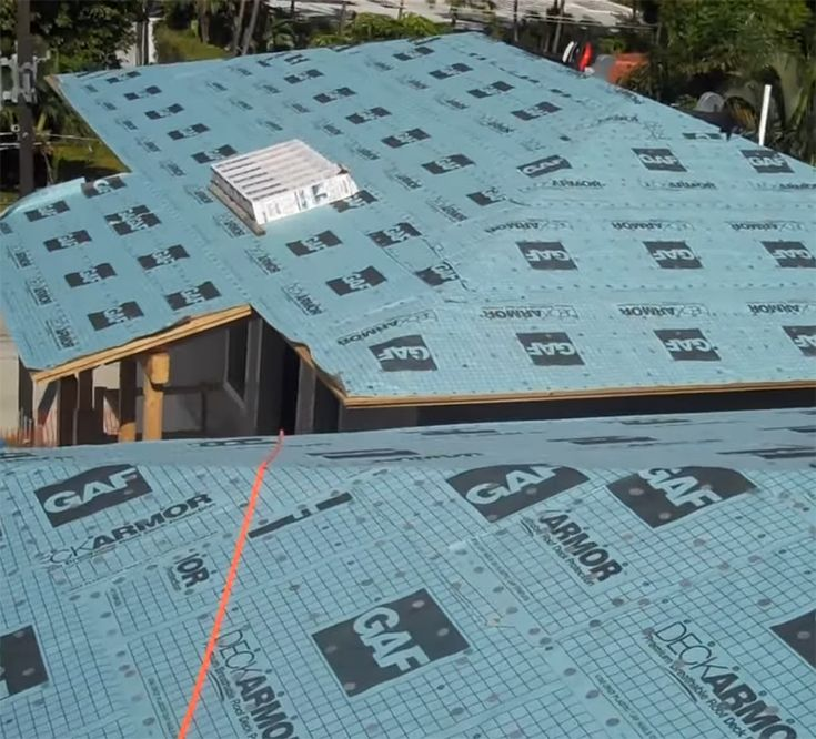 Roof Underlayment Types Cool Roof Roof Installation Synthetic Roofing