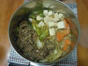How to make a sukiyaki soup