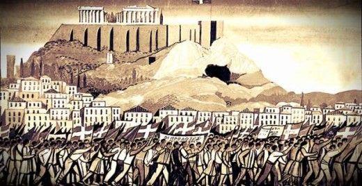 Δύο διαδηλώσεις το 1944: Η ιστορία επαναλαμβάνεται ως φάρσα(;) -