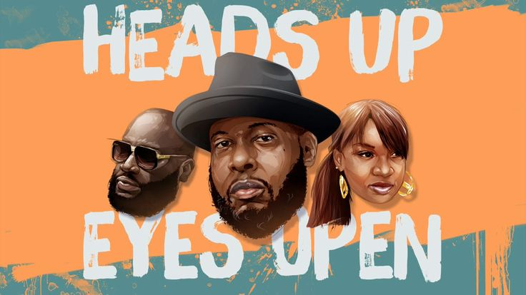 "Talib Kweli ""Heads Up Eyes Open"" feat. Rick Ross & Yummy Bingham (Offici...Talib Kweli has released a new track from his upcoming album Radio Silence. The inspirational soul-rap tune ""Heads Up Eyes Open"" also features the rap-boss mogul himself, Rick Ross, as well as songstress Yummy Bingham."