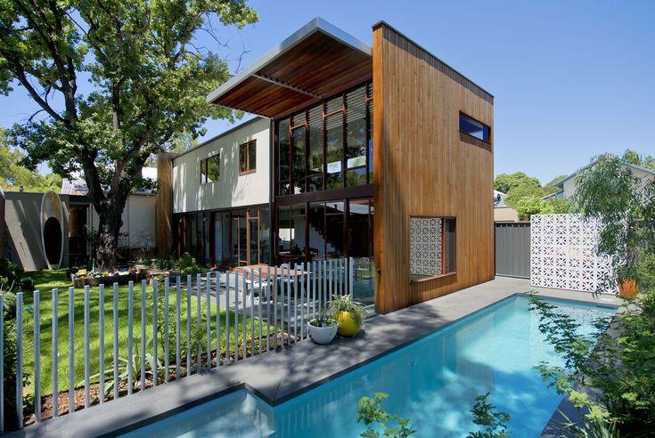 Waverley house by klopper davis architects perth in for Besser block home designs