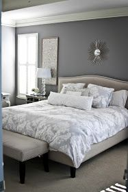 making grey work... | Gray, Neutral and Bedrooms