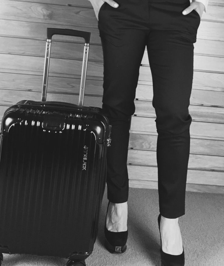 Airport Style - Boss Black Carry On Suitcase by Jett Black