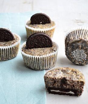 Oreo Cheesecake Cupcakes #oreo #cupcakes #cheesecake