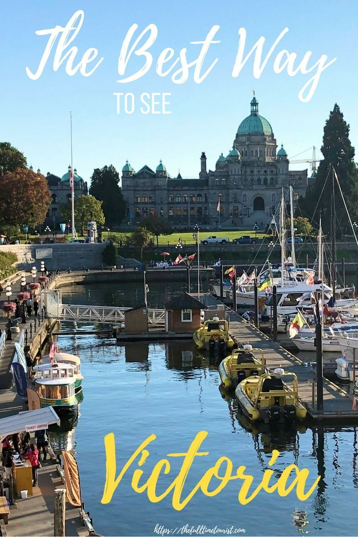 Victoria is the perfect day trip from Vancouver. Just hop the ferry and see all the beauty Victoria has to offer! With beautiful gardens, unique floating home neighbourhoods and the second-oldest Chinatown in North America, it's well worth the trip! Here's the most efficient way to see all Victoria has to offer in 24 hours (and some gluten-free & vegan eats along the way)! Victoria, British Columbia | Travel Canada | BC Tourism | Victoria BC | Things To Do In | Restaurants | What To Do In…