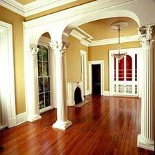 interior greek corinthian columns - Decorative Pillars For Homes