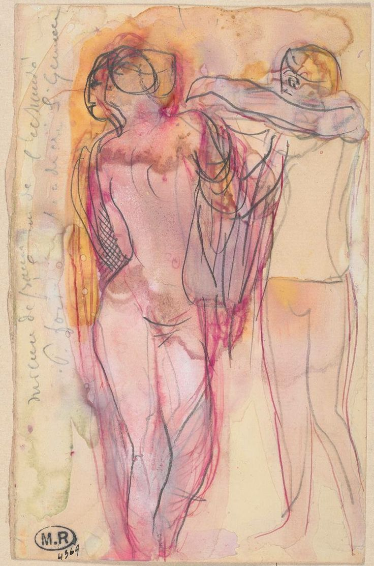 Auguste Rodin - Two Women, One Helping the Other to Put On a Garment