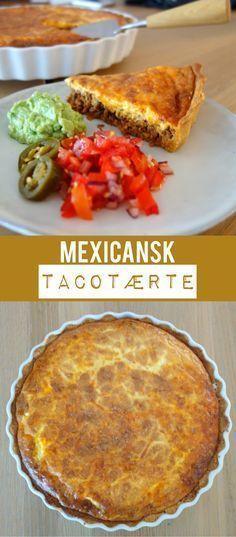 """""""Det smager mega godt - altså som i mega godt""""; det er børnenes professionelle vurdering af den mexicanske tacotærte."""