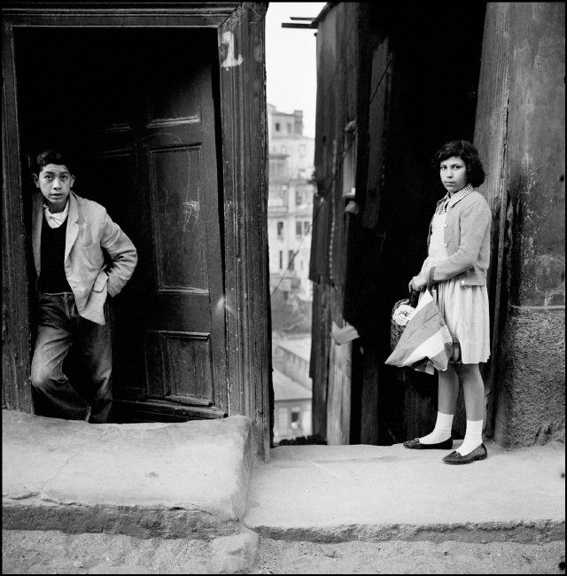 Sergio Larrain CHILE. Valparaiso. 1952.
